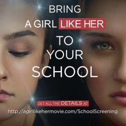 Une docu-fiction sur l'intimidation: «A girl like her»